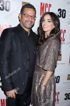 Stock Photo of Alexander Dinelaris and Ana Villafane