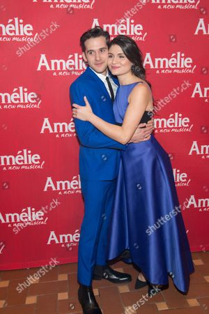 Adam Chanler-Berat and Phillipa Soo