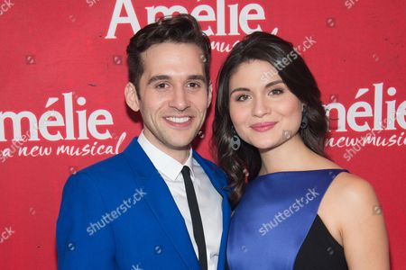 Stock Picture of Adam Chanler-Berat and Phillipa Soo
