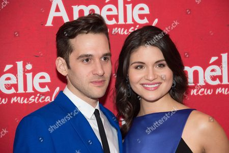 Editorial picture of 'Amelie' play opening night, Arrivals, New York, USA -  - 03 Apr 2017