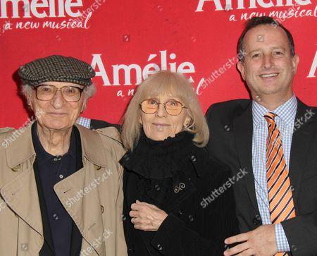 Stock Photo of Sheldon Harnick, Margery Harnick, Aaron Harnick