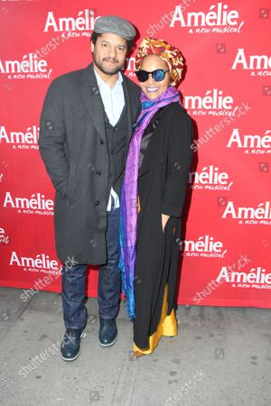 Editorial image of 'Amelie' play opening night, Arrivals, New York, USA -  - 03 Apr 2017