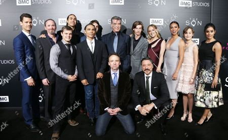 Editorial picture of 'The Son' TV show premiere, Los Angeles, USA - 03 Apr 2017