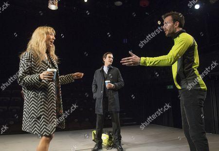 Daisy Haggard as Zara, Ben Chaplin as Edward, Pip Carter as Matt