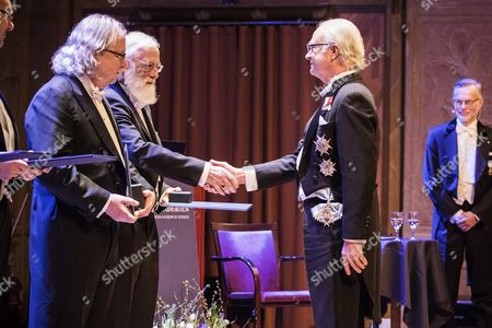 Tony Hunter and James P. Allison recieves The Sjöberg Prize, King Carl Gustaf