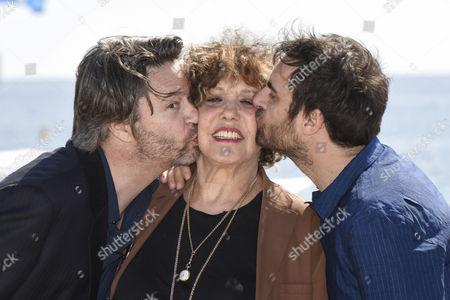 Liliane Rovere, Thibault de Montalembert and Gregory Montel
