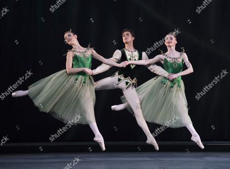 Editorial photo of 'Jewels' performed by the Royal Ballet at the Royal Opera House, London, UK - 30 Mar 2017