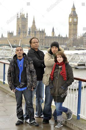 (L to R) MC Zani, Ray parker Jnr., Testament and Bellatrix