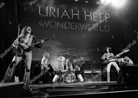 Uriah Heep - Mick Box, David Byron, Lee Kerslake, Ken Hensley and Gary Thain