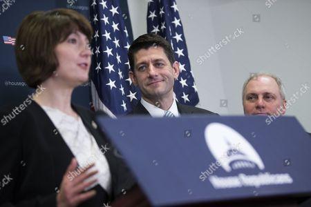 Steve Scalise, Paul Ryan and Cathy McMorris Rodgers