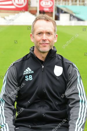 Stuart Barnes portrait during the Surrey CCC Photocall 2017 at the Oval, London