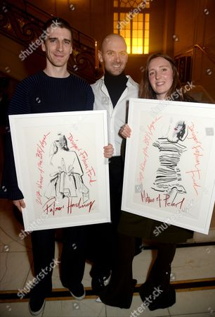 Matthew Harding, Levi Palmer and Amy Powney