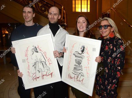 Editorial image of BFC VOGUE Designer Fashion Fund winner announcement, Hotel Cafe Royal, London, UK - 04 Apr 2017