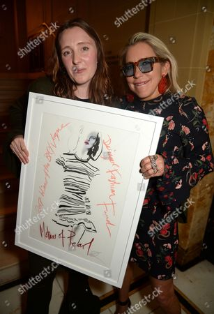 Editorial picture of BFC VOGUE Designer Fashion Fund winner announcement, Hotel Cafe Royal, London, UK - 04 Apr 2017