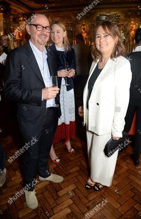 Paul Weiland and Alexandra Shulman