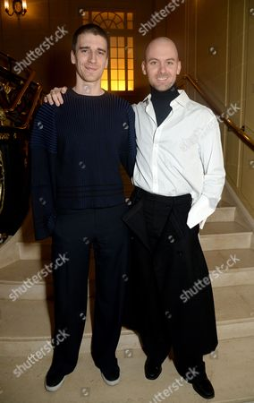 Stock Image of Matthew Harding and Levi Palmer