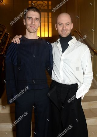 Stock Picture of Matthew Harding and Levi Palmer