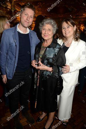 Christopher Bailey, Mrs B Joan Burstein and Alexandra Shulman