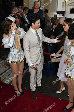 Editorial picture of '42nd Street' musical press night, London, UK - 04 Apr 2017