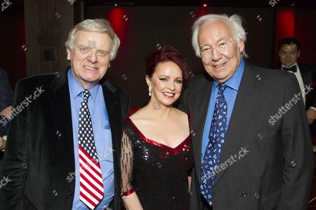 Michael Grade (Producer), Sheena Easton (Dorothy Brock) and Michael Linnet (Producer)