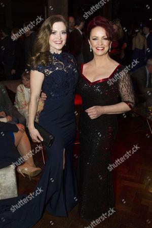 Clare Halse (Peggy Sawyer) and Sheena Easton (Dorothy Brock)