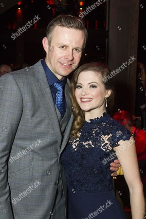 Tom Lister (Julian Marsh) and Clare Halse (Peggy Sawyer)