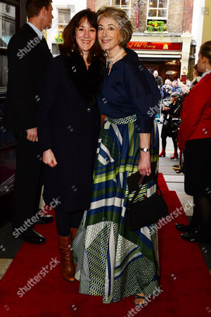 Maureen Lipman with her daughter Amy Rosenthal