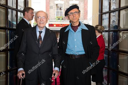 Kevin Rowland with his father John
