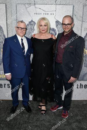 Tom Perrotta, Mimi Leder and Damon Lindelof