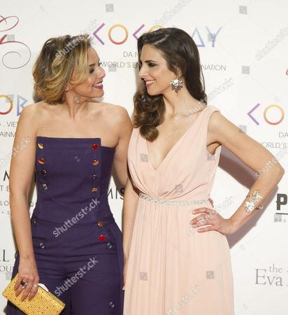 Chenoa and Nuria Fergo