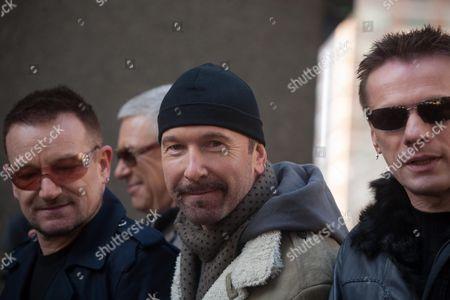 U2 - Bono, the Edge and Larry Mullen Jnr