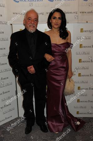 Paulo Coelho and Renu Mehta