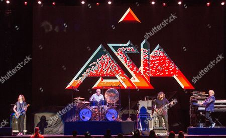 Asia - Sam Coulson, Carl Palmer, Billy Sherwood and Geoff Downes