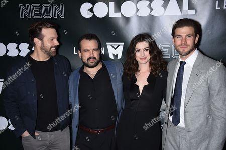 Jason Sudeikis, Anne Hathaway, Nacho Vigalondo and Austin Stowell