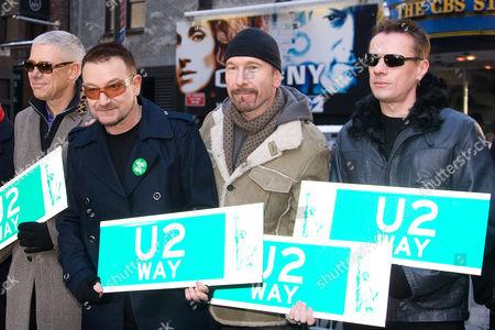 U2 - Adam Clayton, Bono, the Edge and Larry Mullen Jnr