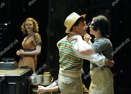 Simone Kirby ( Rose )  Jo Stone-Fewings ( Gerry ) Susan Lynch ( Agnes )