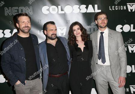 Jason Sudeikis, Nacho Vigalondo, Anne Hathaway, Austin Stowell