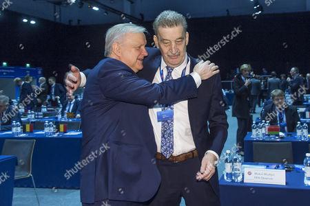 Pertti Alaja and Olli Rehn