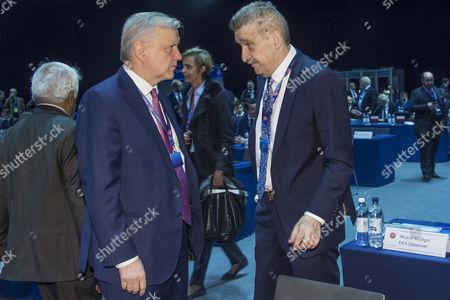 Editorial photo of 41st Ordinary UEFA Congress in Helsinki, Finland - 05 Apr 2017