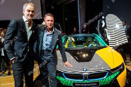 Adrian Van Hooydonk Design Director of BMW and Lapo Elkann