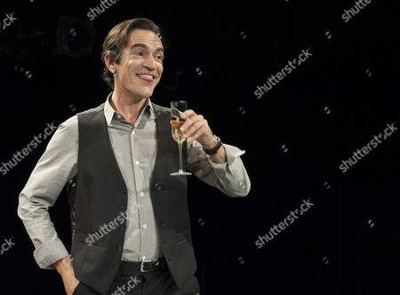 Ben Chaplin as Edward in a performance of the Consent at the National theatre