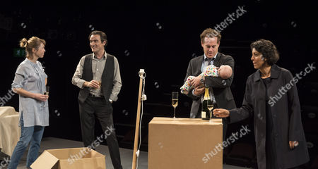 The Company in a performance of the Consent at the National theatre