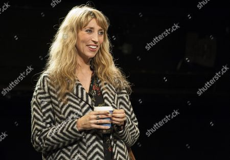 Daisey Haggard as Zara in a performance of the Consent at the National theatre