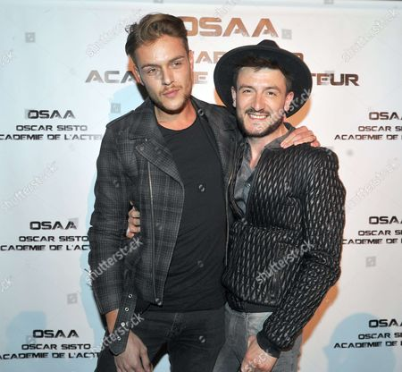 Michal Kwiatkowski and and fiance Maxim Assenza