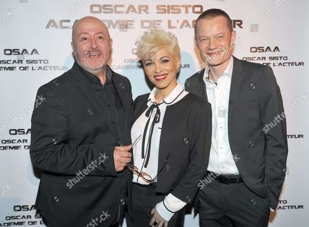 Stock Photo of Ysa Ferrer, Oscar Sisto, Benoit Badin