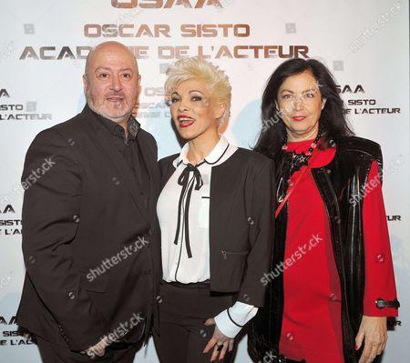 Ysa Ferrer, Oscar Sisto and Sylvana Lorenz