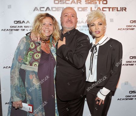 Editorial picture of Oscar Sisto Comedy Club opening photocall, Paris, France - 03 Apr 2017