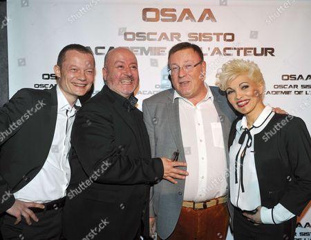 Editorial photo of Oscar Sisto Comedy Club opening photocall, Paris, France - 03 Apr 2017