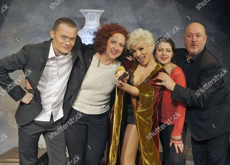 Stock Image of Eliane Sand, Ysa Ferrer, Oscar Sisto, Margaux le Dorze, Benoit Badin