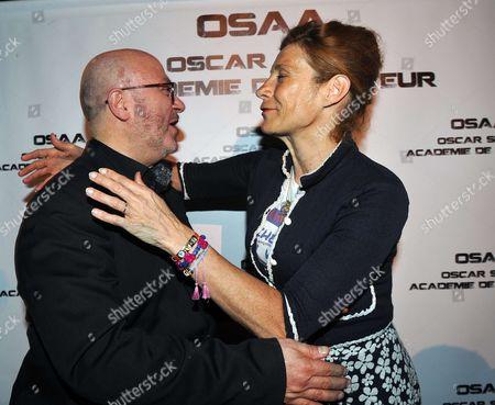 Oscar Sisto and Virginie Merle (Frigide Barjot)